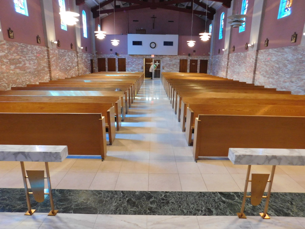st joan of arc  las vegas cardinal church furniture pew charitable trust uk pew charity